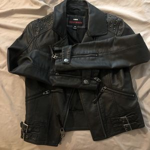 Miss Sixty Jackets & Coats - Women's leather jacket